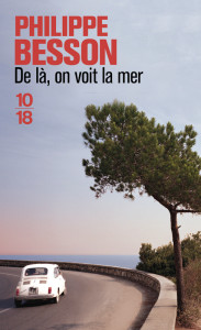 De là, on voit la mer, Couverture