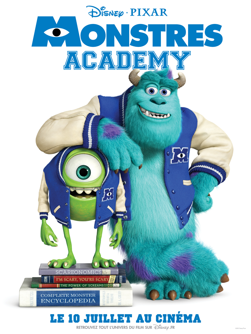 Monstres Academy - Affiche