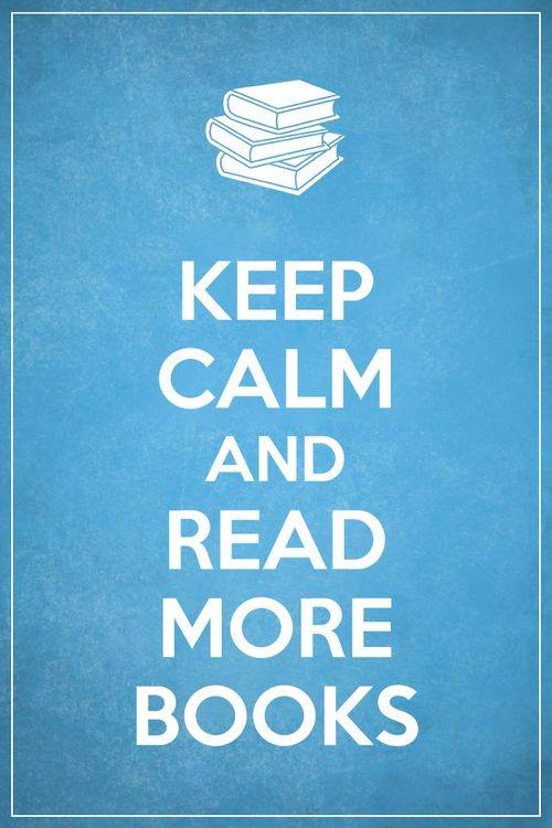 Image - Keep calm and read more books