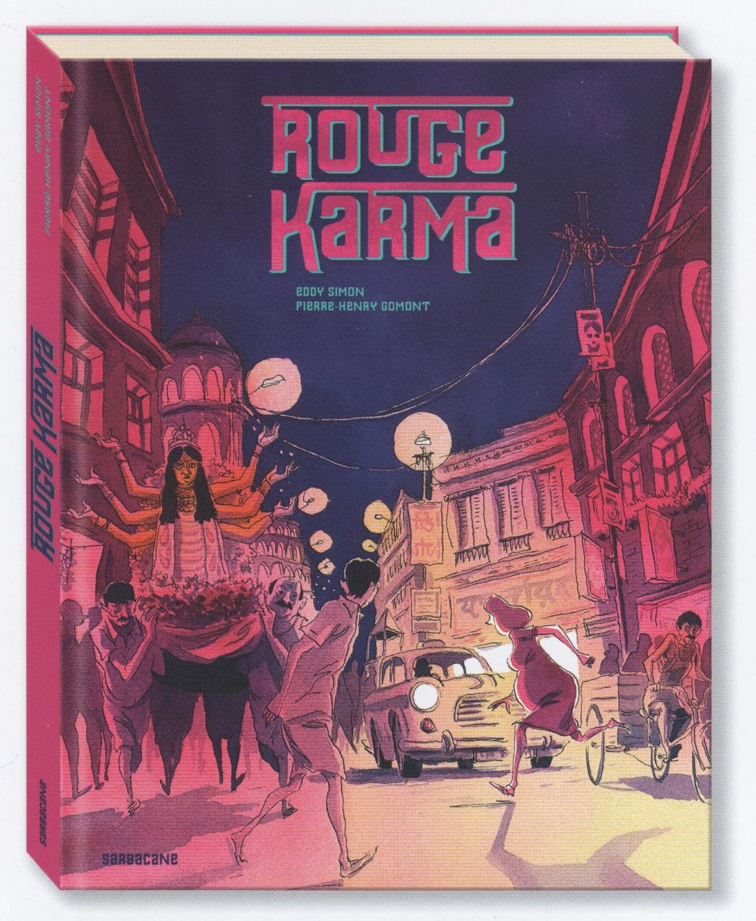 Rouge Karma - Couverture