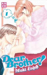 Dear Brother ! T.01 - Couverture
