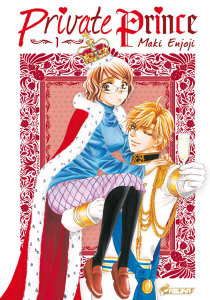 Private Prince T.01 - Couverture