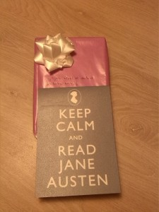 Keep calm & read Jane Austen - Cadeau