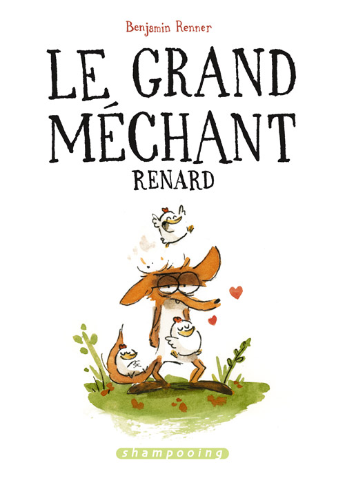 Le Grand Méchant Renard - Couverture