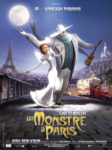 Un Monstre à Paris - Affiche