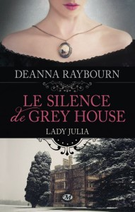 Lady Julia T.01 Le silence de Grey House - Couverture