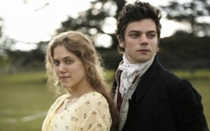 Marianne (Charity Wakefield) & Willoughby 5dominic Cooper)