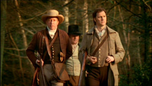 Sir John Middelton (Mark Williams) & le Colonel Brandon (David Morrissey)