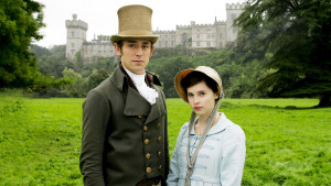 Henry & Catherine face à Northanger Abbey