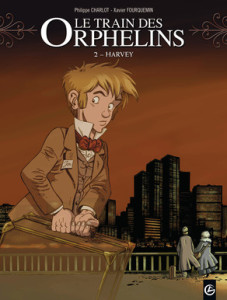Le train des orphelins T.02 - Couverture