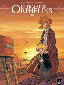 Le train des orphelins T.03 - Couverture