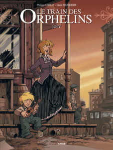 Le train des orphelins T.04 - Couverture