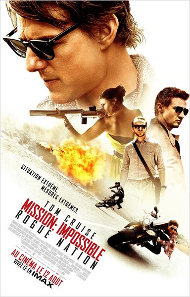 Mission Impossible Rogue Nation - Affiche