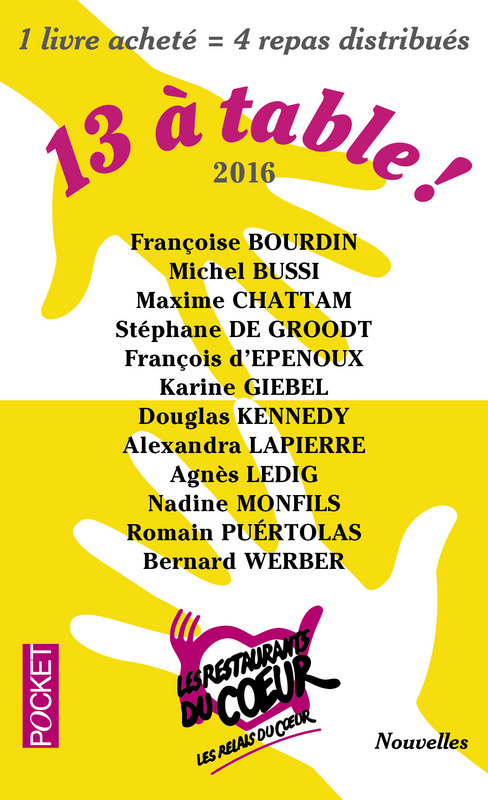 13 à table 2016 - Couverture