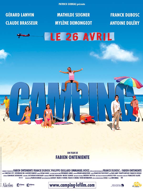 Camping - Affiche