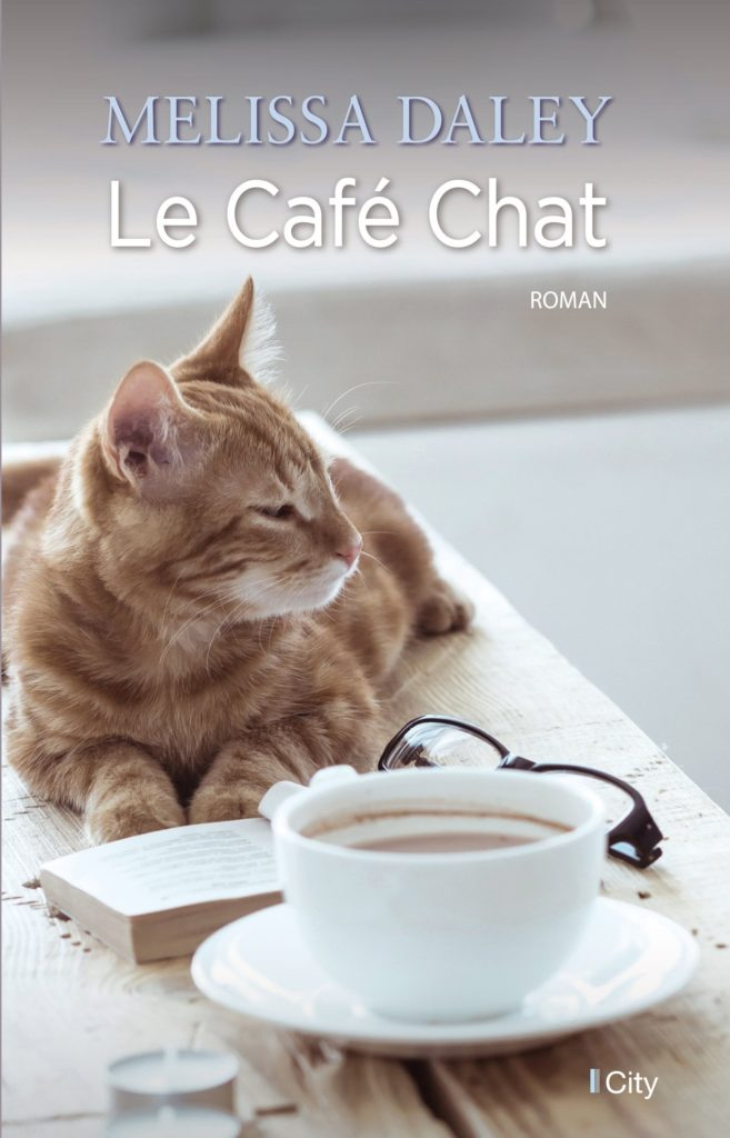 Le Café Chat - Couverture
