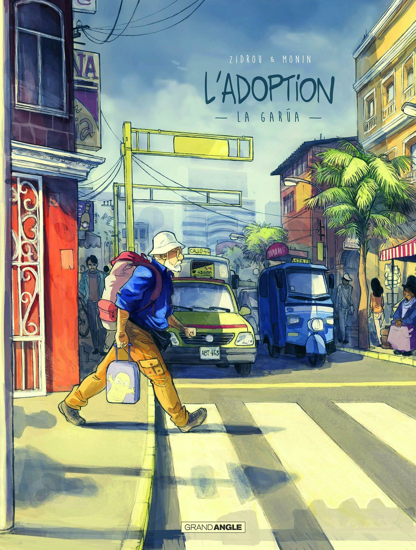 L'adoption T.02 - Couverture