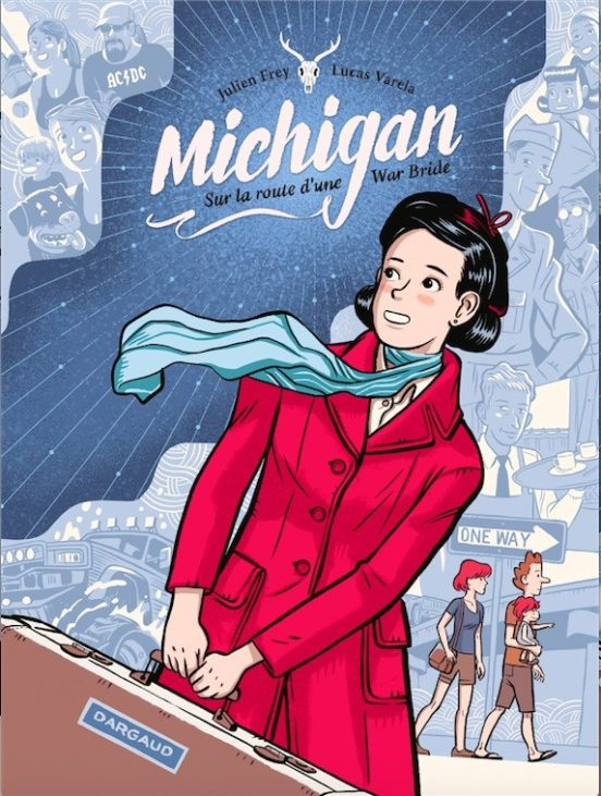 Michigan Sur la route d'une War Bride - Couverture