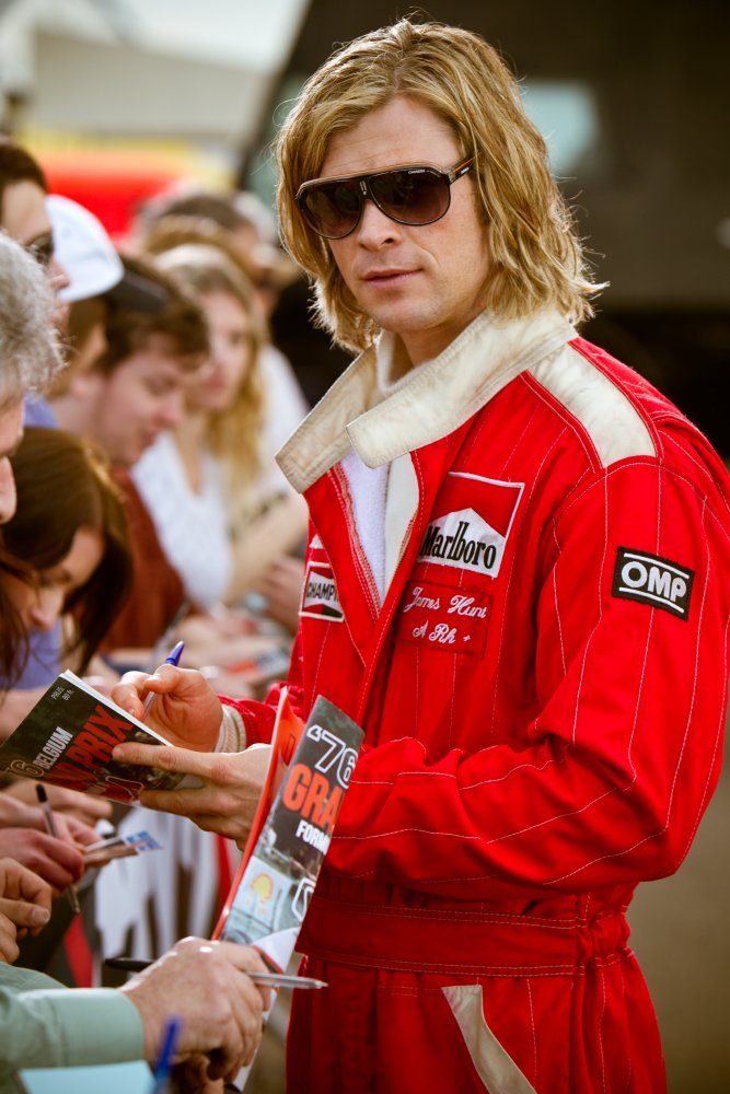 Chris Hemsworth en James Hunt