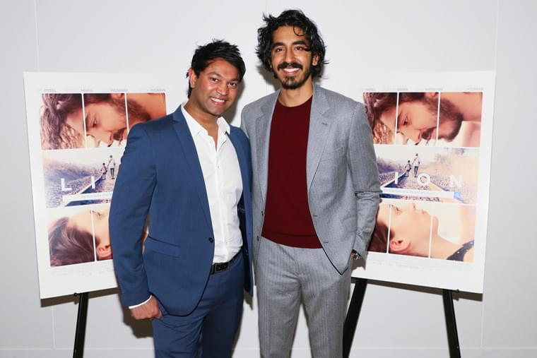 Saroo Brierley et Dev Patel - Photo