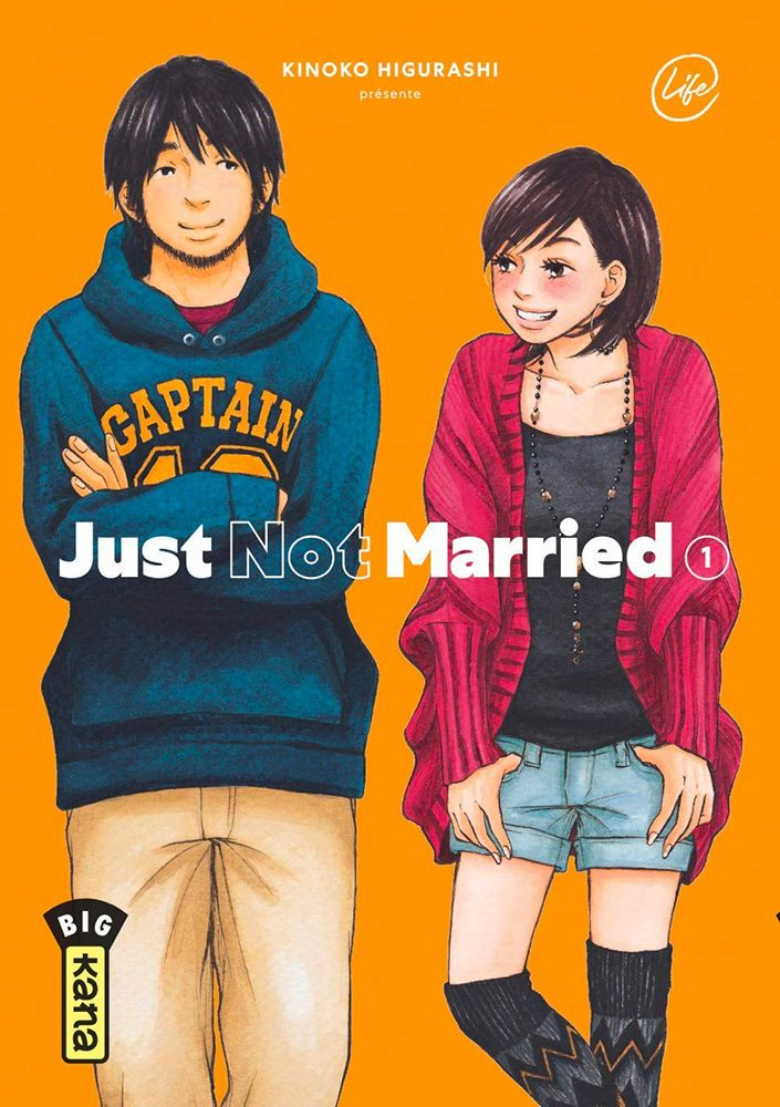 Just not married T.01 - Couverture