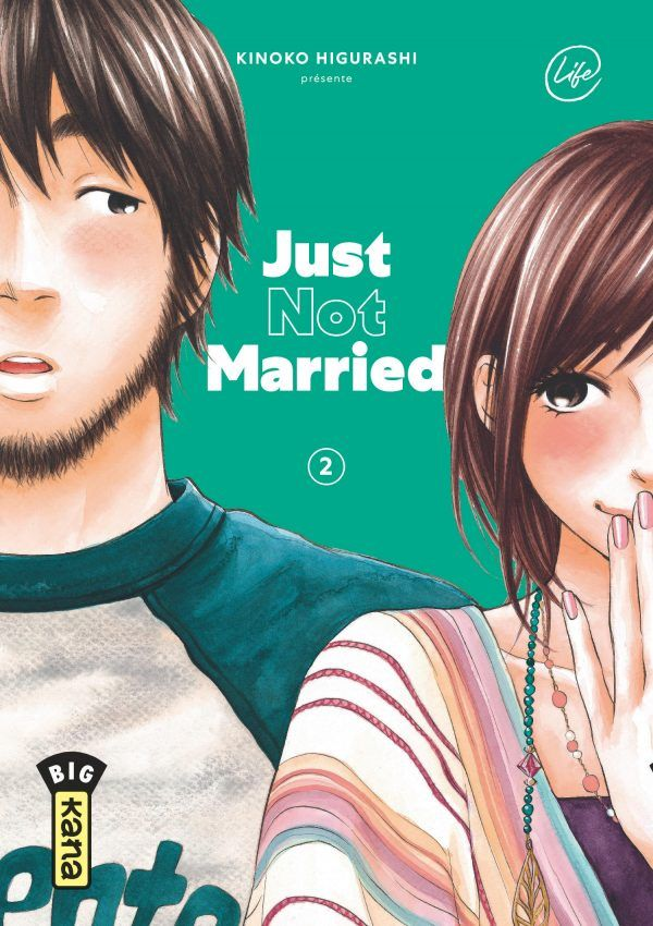 Just not married T.02 - Couverture