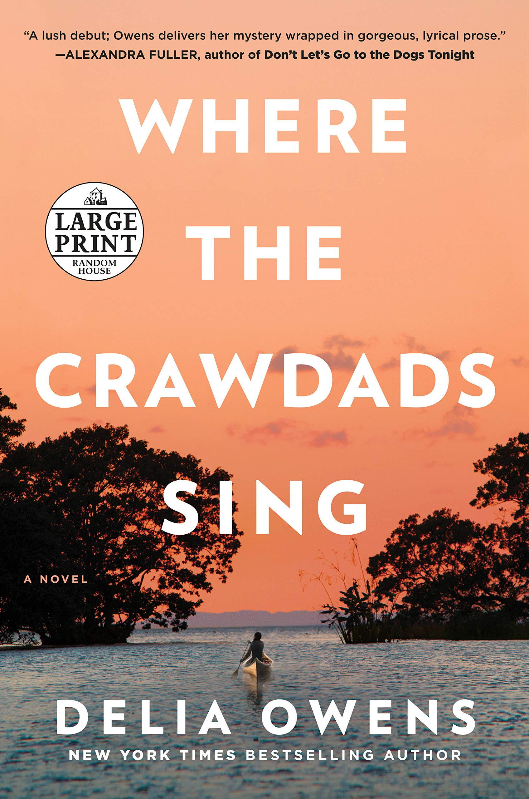 Where the crawdads sing - Couverture