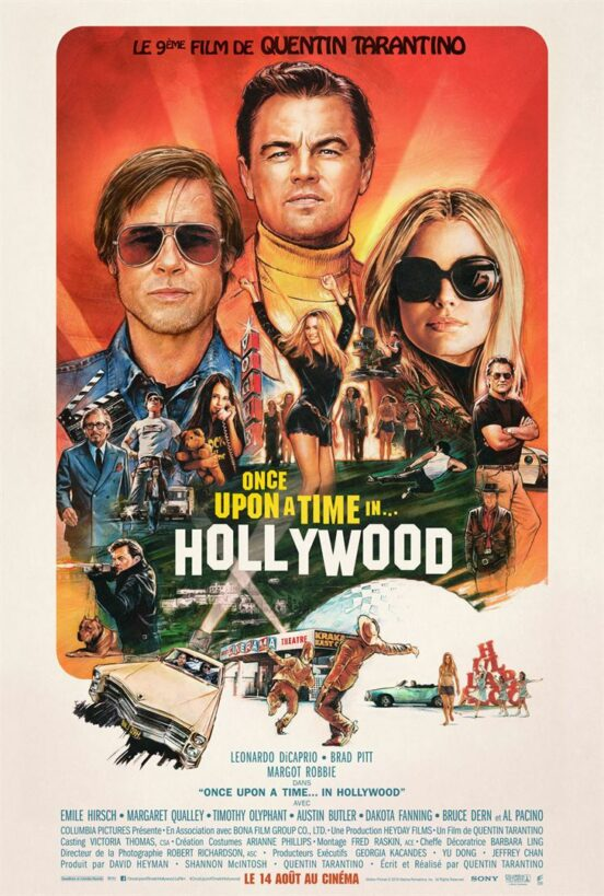 Once upon a time ... in Hollywood - Affiche