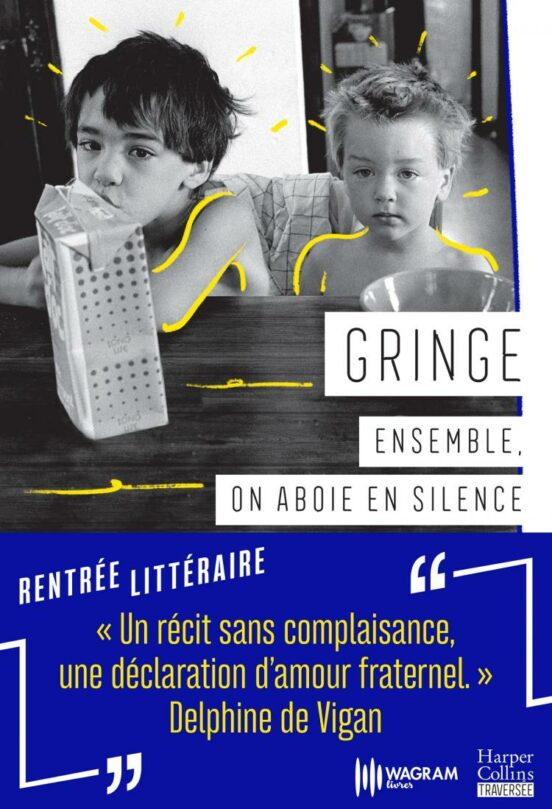 Ensemble, on aboie en silence - Couverture