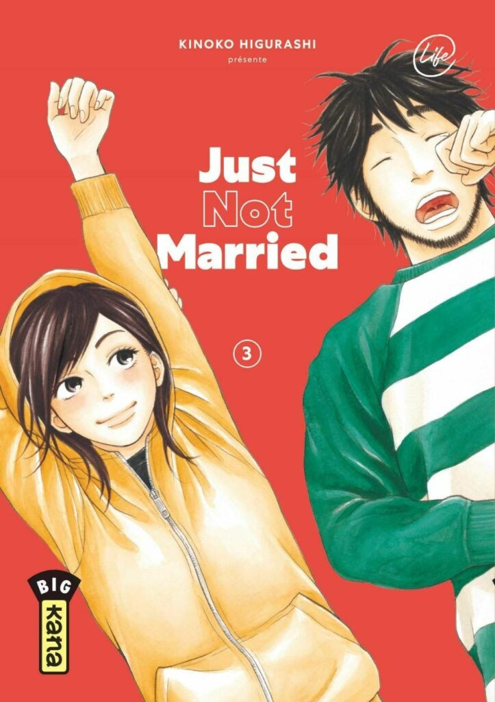 Just not married T.03 - Couverture
