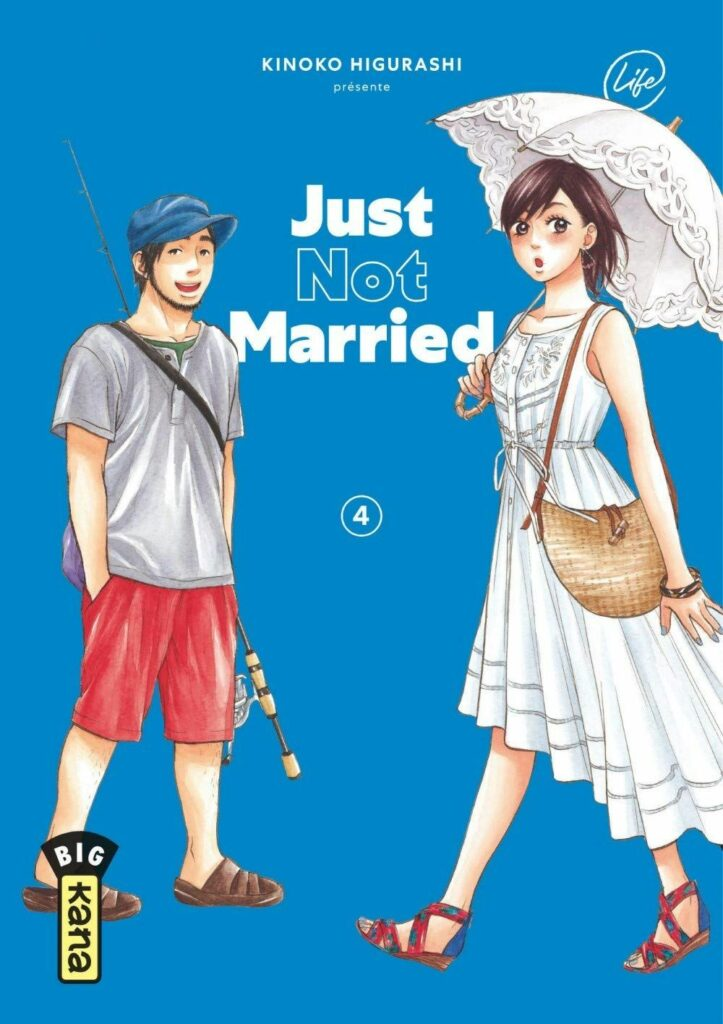 Just not married T.04 - Couverture
