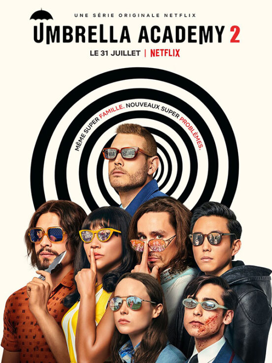 The Umbrella Academy Saison 2 - Affiche
