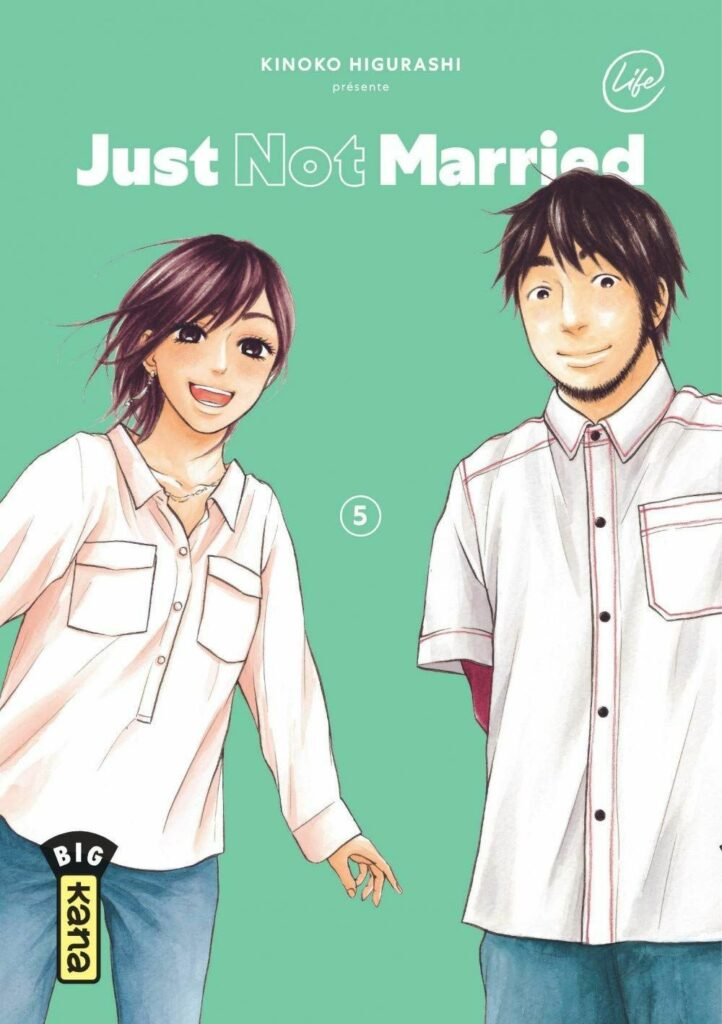 Just not married T.05 - Couverture